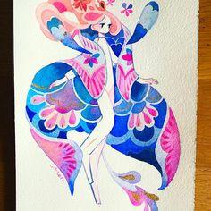 Manta ray Kunst Inspo, Art Inspo, Art And Illustration, Anime Kunst, Anime Art, Cute Art Styles, Manga, Pretty Art, Amazing Art