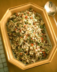 Dirty Rice-this was good, and since the liver's chopped so small, the taste is covered with other flavors.