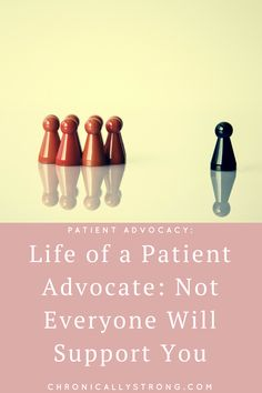although my reach has expanded and I am getting more opportunities, one thing remains the same, certain people refuse to support or even acknowledge my work: https://chronicallystrong.com/life-patient-advocate-not-everyone-will-support/?utm_content=bufferd34fa&utm_medium=social&utm_source=pinterest.com&utm_campaign=buffer