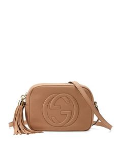 Soho Small Shoulder Bag, Beige by Gucci at Neiman Marcus.