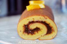A Culinária e Eu ...:    Torta De Laranja & Amêndoa Com Recheio de Choco...