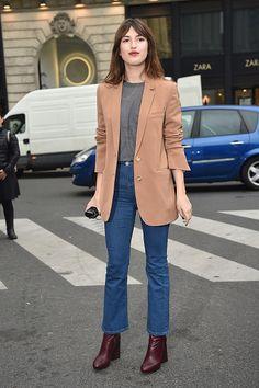 News Photo : Jeanne Damas arrives at Stella McCartney Fashion...