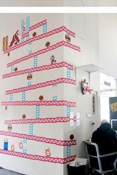 Retro Game Wall Art: Home Designs