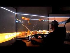 Gamer captains an amazing starship from his living room - CNET