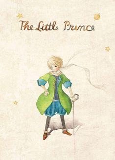 """Иллюстратор Ya-Ong Nero.Сказка Антуана де Сент-Экзюпери """"Маленький принц""""....................................."""