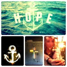 """Hebrews 6:19 """"We have this hope as an anchor for the soul, firm and secure..."""" //Anchor: """"A person or thing that can be relied on for support, stability, or security."""" //He holds us up when we can't stand, when we're weak, He is our strength, He keeps us stable amidst our uncertainty. #anchor #Jesus"""