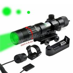 100mw green laser sight for hunting pistol shotgun