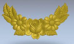 """3D-model- """"Kwiaty. Decor"""".  Bardzo jakościowa typu model.Model ArtСam, STL."""