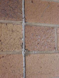 Asbestos Joint Sealant Between Brickwork