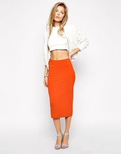 ASOS Pencil Skirt in...