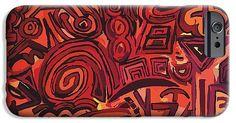 Red Symbols IPhone 6s Case for Sale by Ludovico Misino (Ludodesign) Protector de movil o celular iphone 6s Red Symbols. Ludodesign