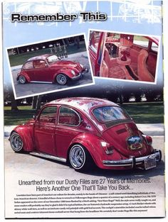 lowrider bug 2. A part of me has always wanted a beetle.