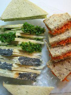 fancy tea sandwiches