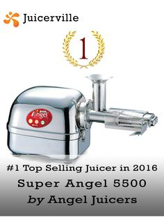 The top selling juicer of 2016 was Super Angel This stainless steel dream machine has been the choice of juicing diehards for years and years. Easy Smoothie Recipes, Easy Smoothies, Smoothie Packs, Smoothie Diet, Wheat Grass, How To Find Out, Angel, Juicers, Dream Machine