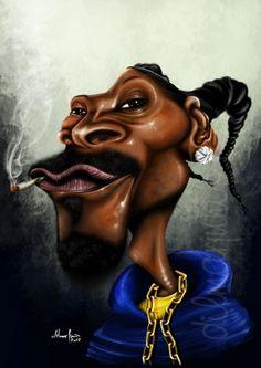 Snoop Dogg #Caricature #FunnyFaces