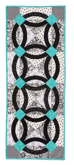 Nouveau Wedding Ring Quilt: Eleanor Burns Signature Quilt Pattern 735272012986 735272012986 - Quilt in a Day Books
