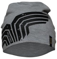 Beltor czapka treningowa Broken Wing melanż. Lekka i elastyczna czapka z dużym nadrukiem Beltor. Doskonale dopasowuje się do kształtu głowy. Idealnie nadaje się dla osób aktywnych, trenujących na powietrzu. #czapkatreningowa #odziezzimowa