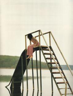 by david sims for yohji yamamoto 1990 catalog