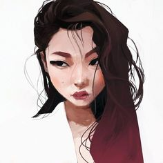 Kai Fine Art is an art website, shows painting and illustration works all over the world. Art And Illustration, Character Illustration, Art Watercolor, Drawn Art, Character Design Inspiration, Art Inspo, Amazing Art, Art Reference, Character Art