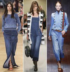 Spring/ Summer 2015 Fashion Trends: Denim