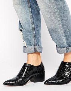 Enlarge ASOS RED SKY Monk Ankle Boots