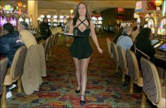 Orleans Cocktail Waitress