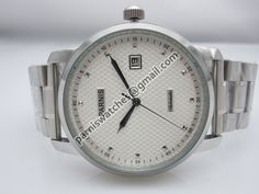 Parnis 43mm regged white dial date SEA-GULL automa - Automatic - Parnis watch station