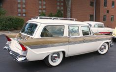 1957 Packard Clipper station wagon by carphoto, via Flickr