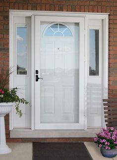 Full of options to choose from Pella Fullview storm doors will suit