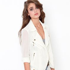 Hidden Lace Jacket • Perfect condition • 100% Polyester | Nasty Gal Jackets & Coats