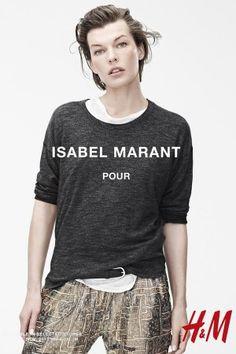 Isabel Marant H&M Ad Campaign - Milla Jovovich