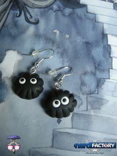 Nerini earrings, hand-made! http://www.thenfactory.com/prodotto/nerini-del-buio-orecchini/