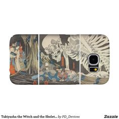 Takiyasha the Witch and the Skeleton Spectre Japanese Woodblock Print Samsung Galaxy S6 Cases