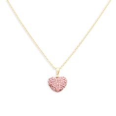 Hearts and pink crystals never go out of fashion! Make this a timeless piece for that special little someone, that she will never forget. comes in purple and dark pink too