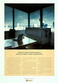 "Financial Services: ""CONTAINER"" Print Ad  by DDB & Co."