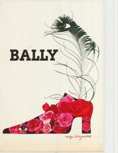 chaussures Bally - illustration de Bezombes -