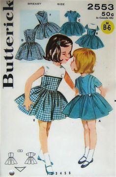 Hermosos vestidos de niñas!!!