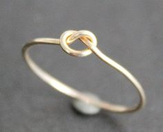 Small Knot Ring - 14K Gold Filled