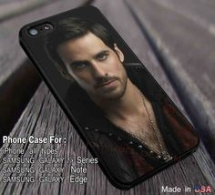 Cool Captain Hook Once Upon a Time iPhone 6s 6 6s  5s 5c 4s Cases Samsung Galaxy s5 s6 Edge  NOTE 5 4 3 #movie #disney #animated #onceuponatime dl3