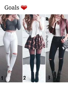 Teenage girl outfits, cute outfits for school, cute fall outfits, chic outf Teenager Outfits, Teenager Mode, Teenage Girl Outfits, Cute Outfits For School, Teen Fashion Outfits, Cute Fall Outfits, Mode Outfits, Cute Fashion, Outfits For Teens