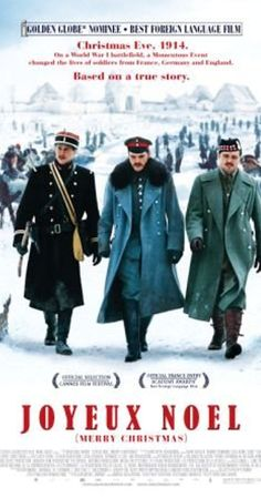 Directed by Christian Carion. With Diane Kruger, Benno Fürmann, Guillaume Canet, Natalie Dessay. In December 1914, an unofficial Christmas truce on the Western Front allows soldiers from opposing sides of the First World War to gain insight into each other's way of life.