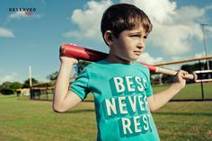 Reserved Kids SS16 #summer#prints#t-shirt#baseball#play#games