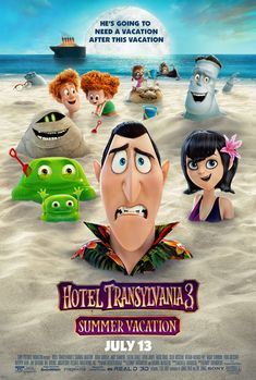 Hotel Transylvania 3 Summer Vacation 2018 HDTS Hindi Dual Audio IMDB Ratings: Animation, Comedy, Family Director: Genndy TartakovskyStars Cast: Adam Sandler, Andy Samberg, S… Watch Hotel Transylvania, Festa Hotel Transylvania, Hindi Movies, New Movies, Movies Online, Watch Movies, Movies Free, Prime Movies, Movies Box