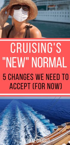 If you have a cruise booked for 2021, it's important to know about 5 changes that will impact your cruise vacation. #cruise #cruisetips #cruising