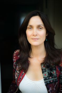 Carrie-Anne Moss via AnnapurnaLiving.com #CarrieAnneMoss #AnnapurnaLiving Photo by Catherine Just.