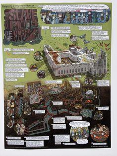 Walkthrough Map Collection (all 7 map prints) pre-order