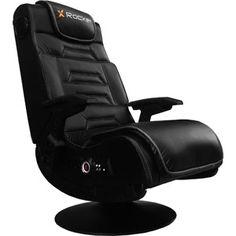 the best attitude 791a1 e1337 X Rocker Pro Series Pedestal Video Gaming Chair, Wireless, Black
