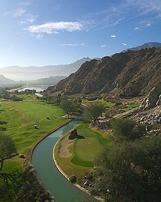 Nicklaus Private golf course at PGA West in La Quinta, California