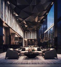 New modern hotel lobby seating 27 ideas Luxury Home Decor, Luxury Interior Design, Contemporary Interior, Interior Architecture, Interior And Exterior, Luxury Homes, Interior Decorating, Room Interior, Decorating Ideas