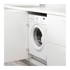 IKEA - RENLIG, Integreret vaskemaskine, 5 års garanti. Læs betingelserne i garantifolderen.21 vaskeprogrammer. Programmerne omfatter: Håndvask, Koge-/kulørt øko, Finvask, Udpumpning, Skylning, Centrifugering osv.Funktion til forsinket start i op til 20 timer gør det muligt for dig at vaske, når det passer dig, eller når elektriciteten er billigere.Fuldt integreret. Vælg en dør, der matcher resten af køkkenet.